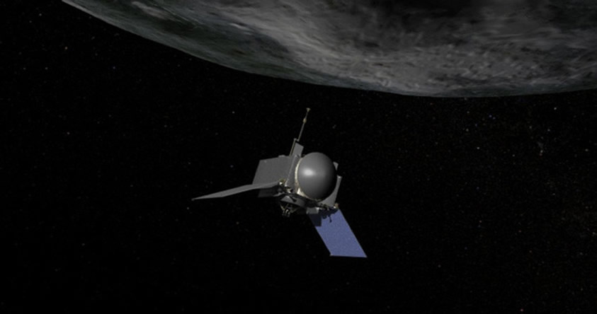NASA envía una sonda a un asteroide para buscar vida extraterrestre