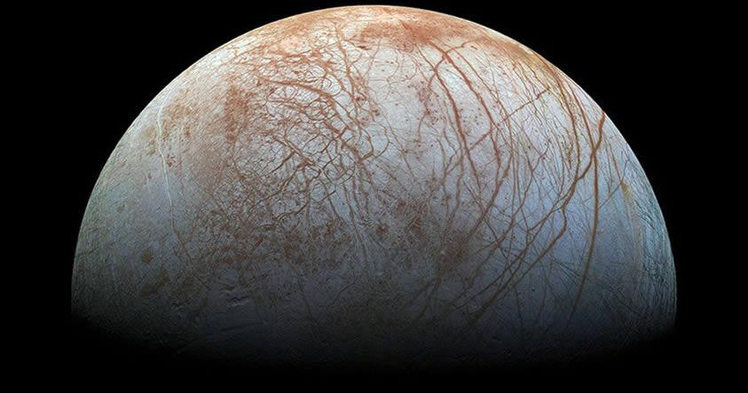 NASA revelará un sorprendente hallazgo en Europa, luna de Júpiter