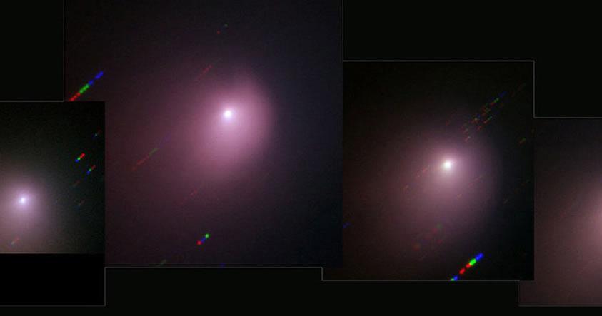 Sonda espacial choca contra el cometa Tempel