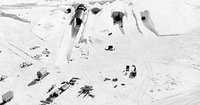 Residuos nucleares de una base de la Guerra Fría están a punto de fugar al Ártico