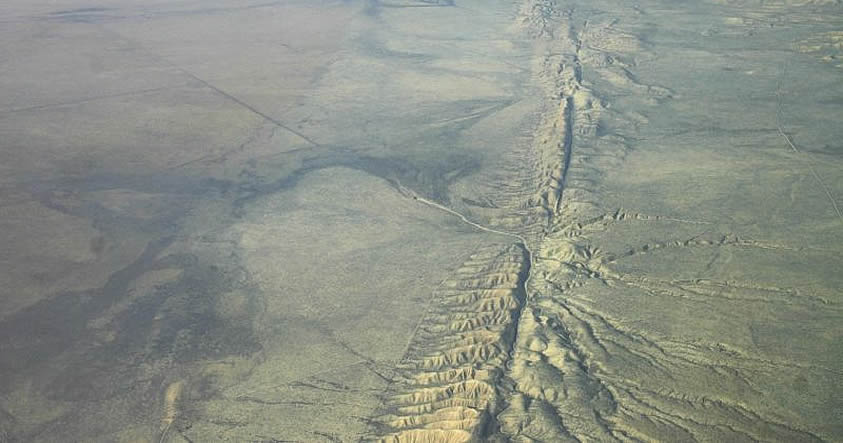 Servicio Geológico de EE.UU. advierte de riesgo inminente de terremoto en Falla de San Andrés