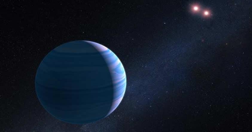 El telescopio Hubble detecta un planeta con dos soles a 8.000 años luz