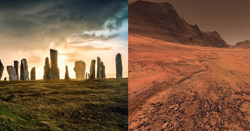 «Martemotos» Hallazgo en isla del Reino Unido sugiere que Marte puede albergar vida