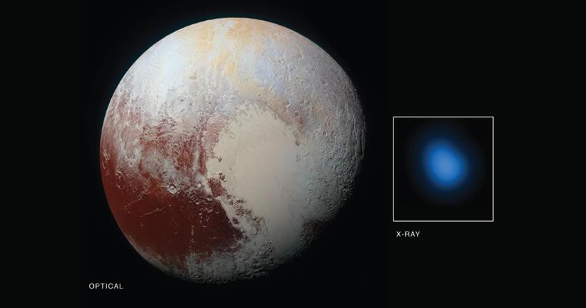 Confirman que Plutón emite rayos X, algo que en teoría no debería ocurrir