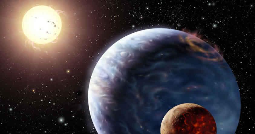 Un planeta habría chocado con la Tierra hace miles de millones de años y hecho posible la vida