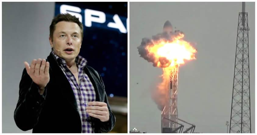 Elon Musk: Satélite de Facebook no fue destruido por la explosión del cohete de SpaceX