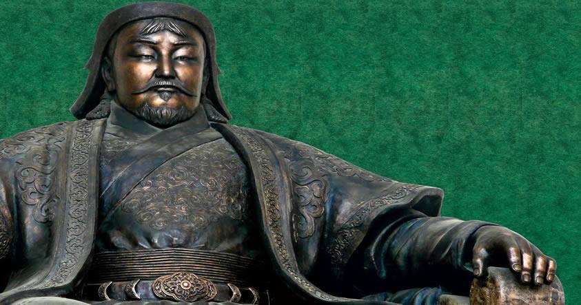 Gengis Kan, el señor de los mongoles.