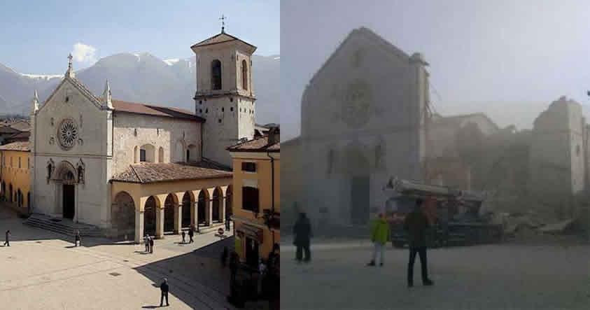 Violento terremoto remece nuevamente el centro de Italia