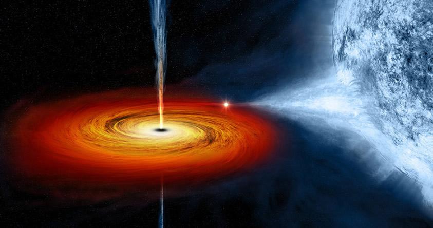 Agujeros negros podrían ser portales a nueve dimensiones