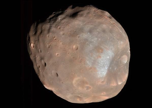 Fobos, uno de los satélites de Marte