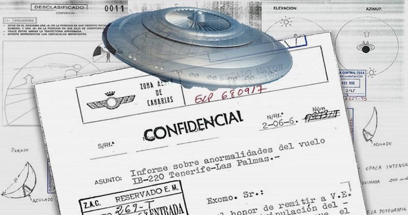 Ministerio de Defensa desclasifica 1.900 páginas de «archivos OVNI» en España