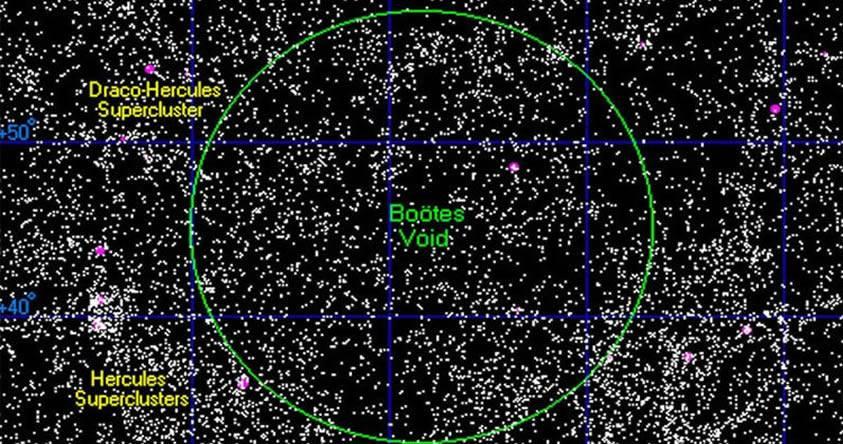 «Como burbujas en el espacio» El Universo está repleto de colosales agujeros negros