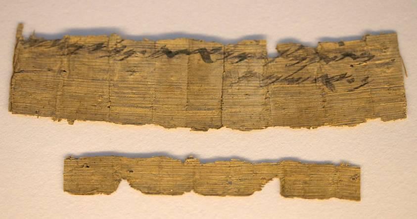 Descubren un papiro de 3.000 años que hace mención de Jerusalén
