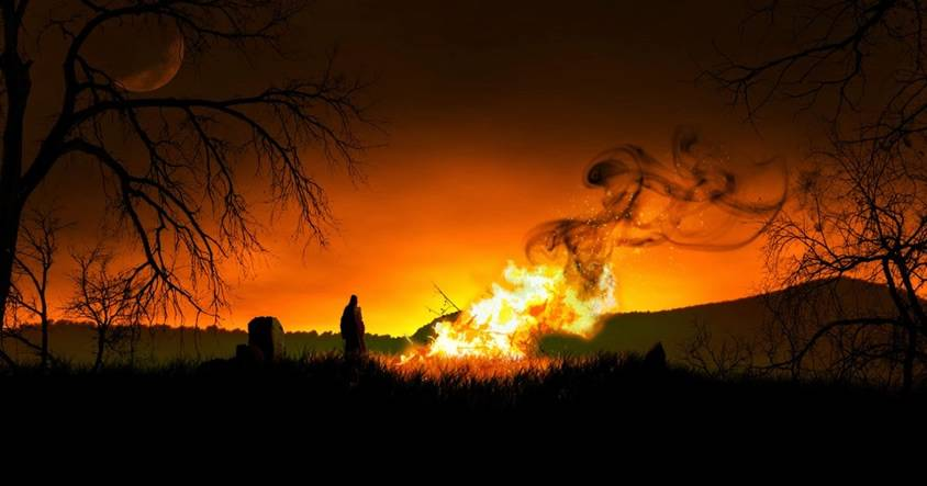 Halloween y su origen: Una brutal fiesta con sacrificios humanos y brujería prohibida por Roma