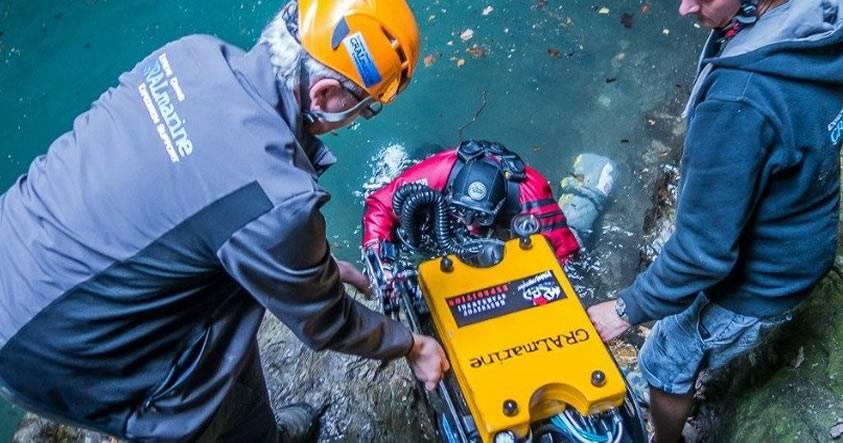 Exploradores descubren la cueva submarina más profunda de la Tierra