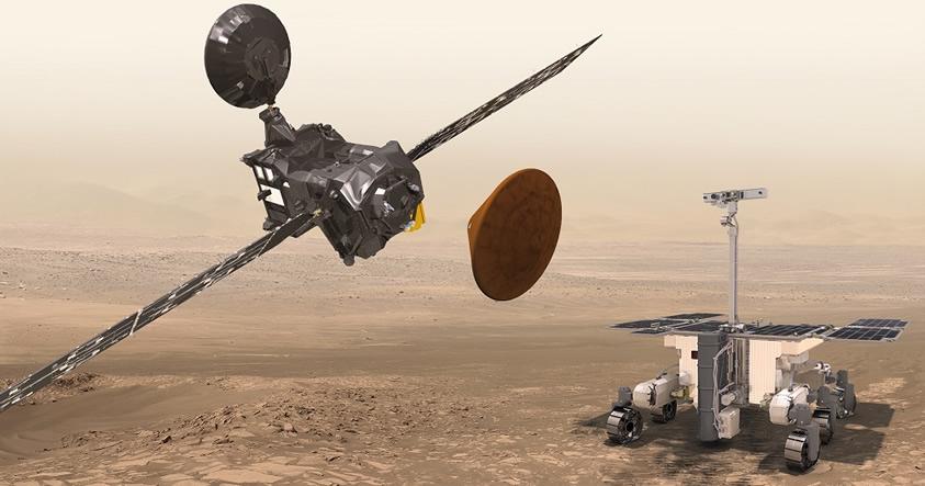 Misión de ExoMars descenderá este 19 de octubre en Marte para buscar vida extraterrestre