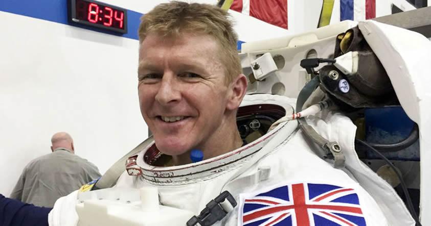 Astronauta Tim Peake: «La vida extraterrestre es real y existente en el Cosmos»