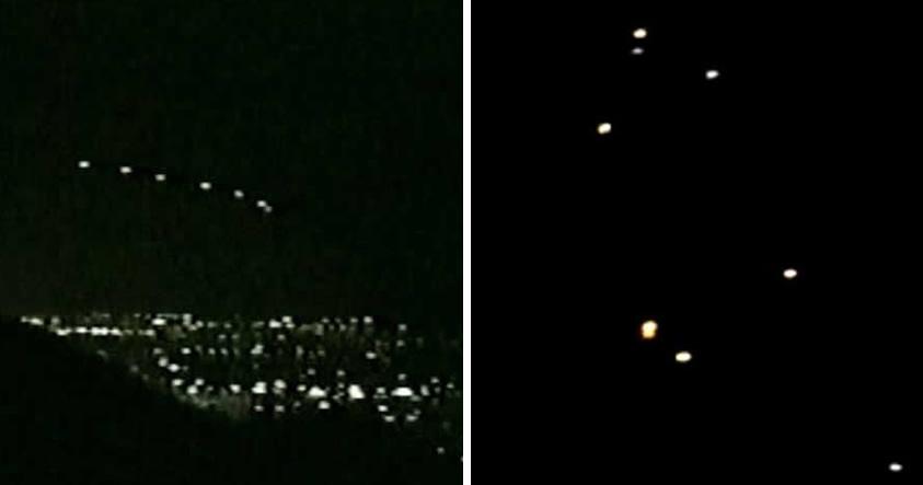 ¿Luces de Phoenix 2.0? Avistan múltiples Ovnis en Arizona, EE.UU.