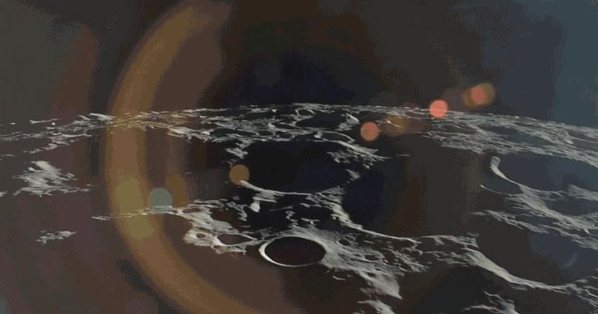 Vídeo en HD desde la Luna muestra la Tierra en el horizonte