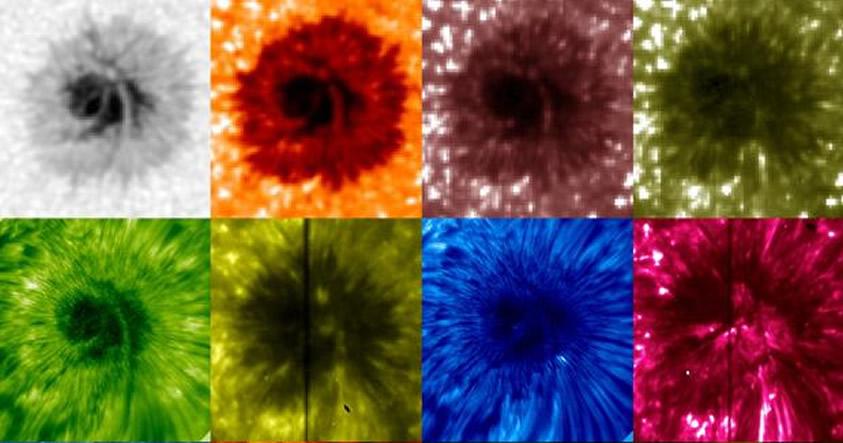 NASA capta el misterioso comportamiento de las manchas solares