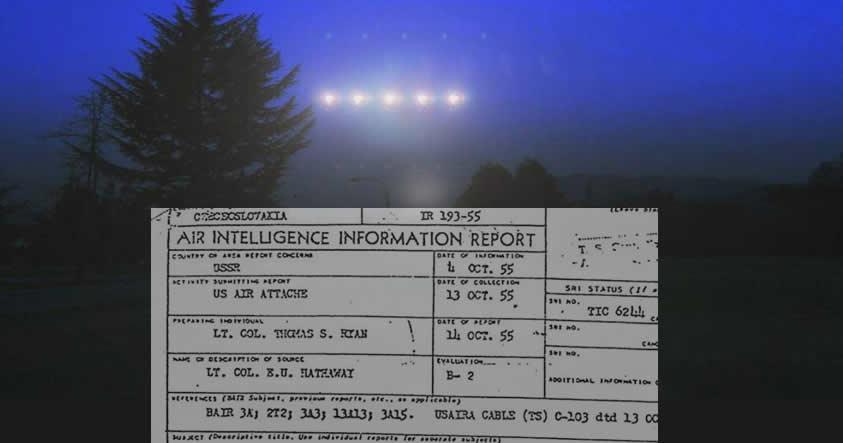 Archivo desclasificado: Senador de EE.UU presenció dos Ovnis despegando