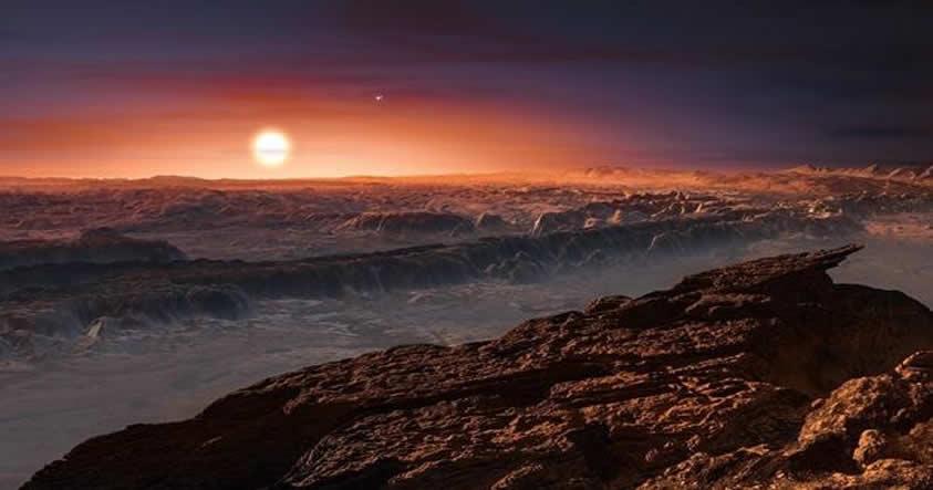 Según investigadores el planeta Próxima b podría ser un «mundo oceánico»