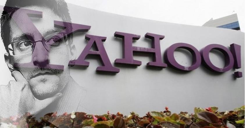 Snowden: «¿Usas Yahoo? Cierre su cuenta hoy, ellos analizan todo lo que usted escribe»