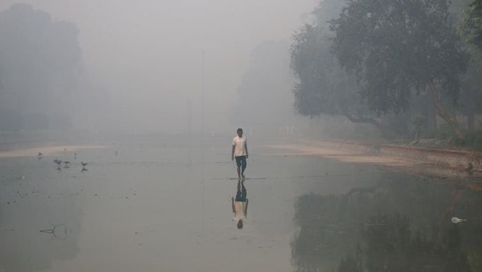 En la India el aire se ha hecho irrespirable