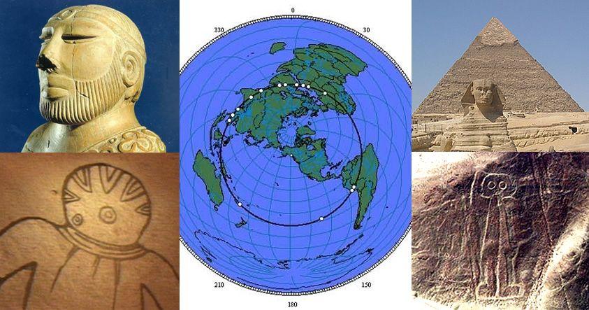 Antiguos y enigmáticos sitios alineados perfectamente alrededor de la Tierra