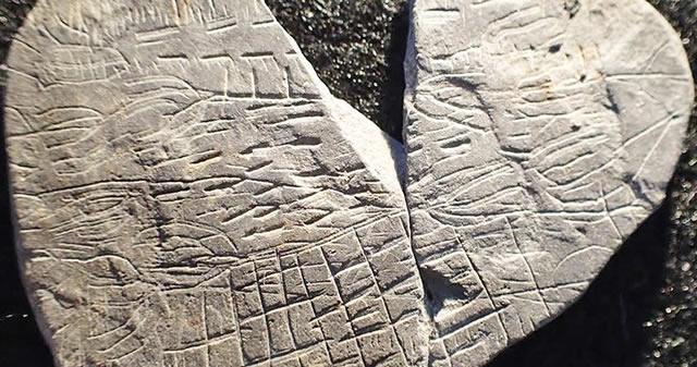 Esta roca de 5.000 años de edad podría ser uno de los mapas más antiguos del mundo