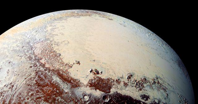 planicie Sputnik, el ventrículo izquierdo del corazón de Plutón
