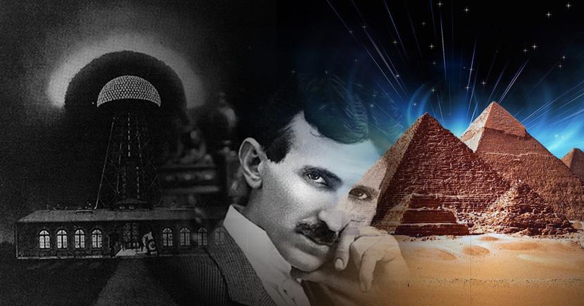 ¿Podrían la Gran Pirámide de Giza y la Torre de Tesla compartir la misma tecnología?