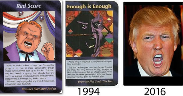 ¿Muestran las cartas Illuminati el triunfo de Donald Trump?
