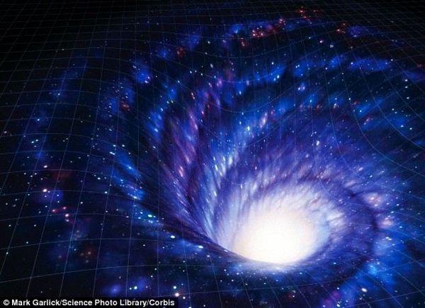 Los agujeros de gusano son túneles teóricos que crean atajos en el espacio-tiempo. Un estudio del Dr. Luke Butcher en la Universidad de Cambridge argumentó que si un agujero de gusano fino permanecía abierto el tiempo suficiente, la gente podía enviar mensajes a través del tiempo usando pulsos de luz, o fotones.