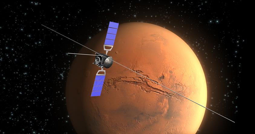 Descubren evidencias de un pasado más cálido y húmedo en Marte