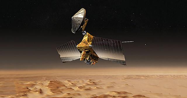 NASA acaba de publicar una imagen del lugar más frío de Marte