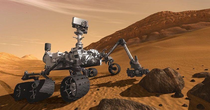 Curiosity encuentra importante evidencia que indica que Marte fue habitable