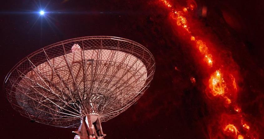 Se detectan otras 6 misteriosas señales procedentes de fuera de nuestra galaxia