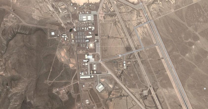 Timelapse demuestra como el Área 51 ha ido creciendo a la largo del tiempo