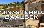 Las impactantes ruinas megalíticas del Templo de Baalbek
