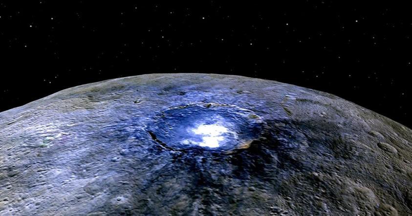 Estudio revela que el planeta enano Ceres posee un océano subterráneo