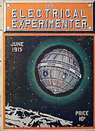 «Electrical Experimenter» de Junio de 1915 que contiene en las páginas 39 y 45, una entrevista al Sr. Nikola Tesla.