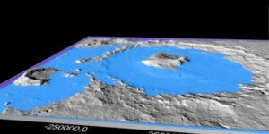 Ciclos climáticos podrían explicar cómo el agua formó la superficie de Marte