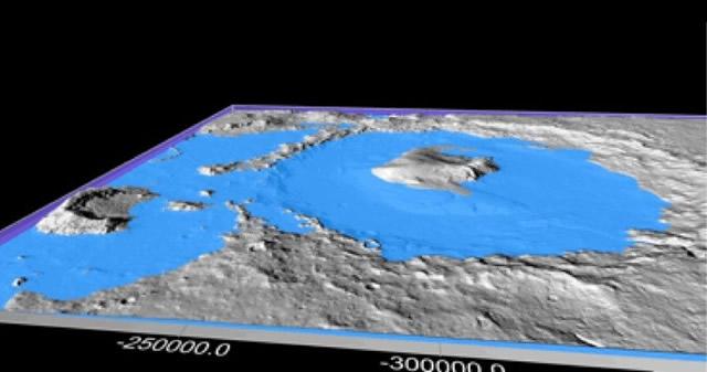 Ciclos climáticos explicarían cómo el agua formó el actual paisaje de Marte