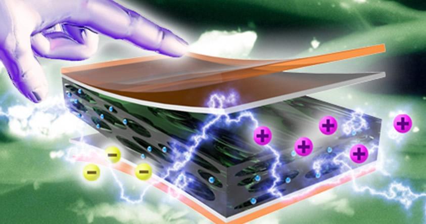 Científicos desarrollan un material que genera electricidad con solo tocarlo