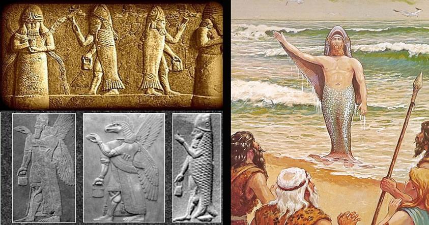 ¿Fue el primer hombre de la Tierra un híbrido llamado Oannes?