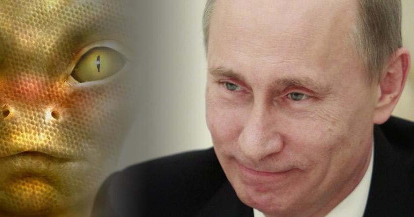 ¿Vladimir Putin está pactando con razas alienígenas?