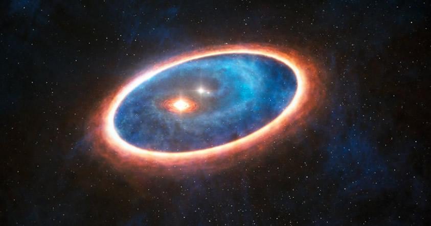 Astrónomos observan la formación de un sistema solar por primera vez