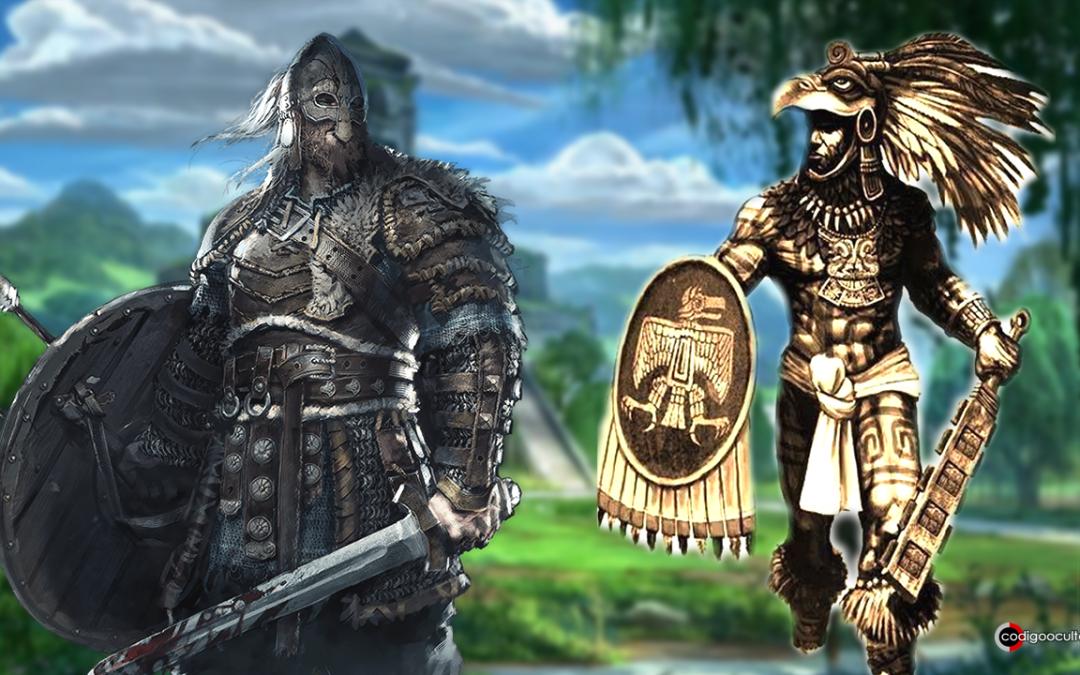 Guerras entre vikingos y aztecas en el México precolombino