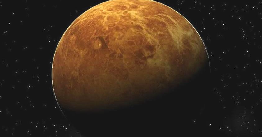 Astrónomos desconcertados ante una misteriosa y gigantesca onda en Venus (Fotos)